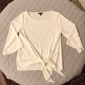 Banana Republic wrap front top